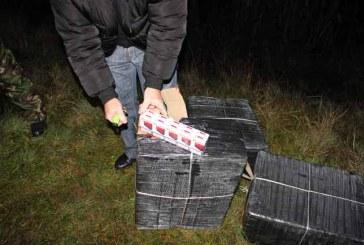 Maramures: 13 focuri de arma pentru retinerea contrabandistilor de tigari