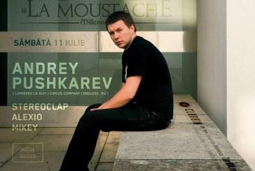 La Moustache: Artistul international, Andrey Pushkarev, mixeaza pentru publicul baimarean