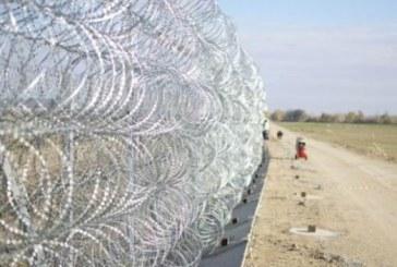 Gardul de la granita dintre Ungaria si Serbia va fi gata in cateva luni