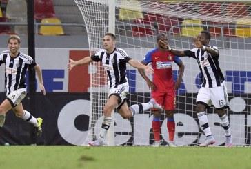Fotbal: Steaua – Partizan Belgrad, scor 1-1, in prima mansa a turului trei preliminar al Ligii Campionilor