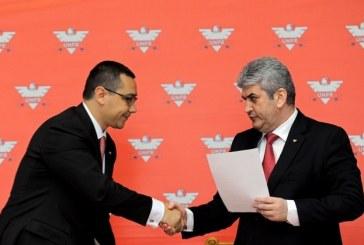 Ponta i-a delegat lui Oprea atributiile de conducere a Guvernului, in perioada 29 iulie-9 august
