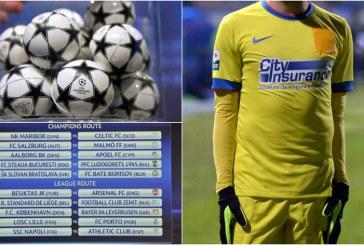 Fotbal: Liga Campionilor: Steaua va juca in turul 3 preliminar cu castigatoarea duelului Partizan Belgrad – FC Dila Gori