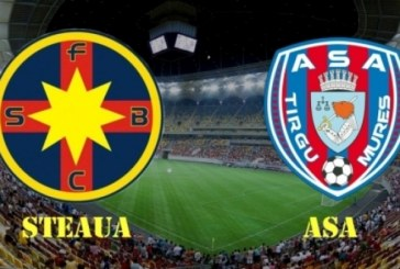 Fotbal. Avancronica Supercupei Romaniei: Steaua – ASA Targu Mures