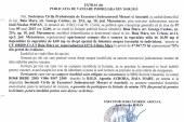 Vanzare apartament in Baia Mare – Extras publicatie vanzare imobiliara, din data de 10. 08. 2015