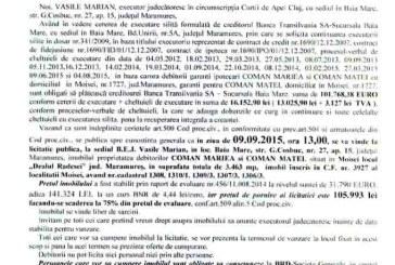 Vanzare apartament in Moisei – Extras publicatie vanzare imobiliara, din data de 06. 08. 2015