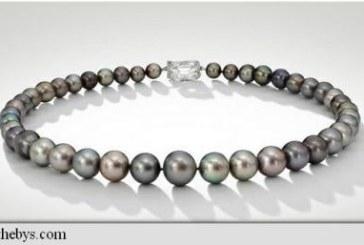 Un colier de perle rare ar putea fi vandut la licitatie cu 7 milioane de dolari