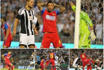 Fotbal: Steaua a fost invinsa de Partizan, scor 2-4, si a fost eliminata din Liga Campionilor