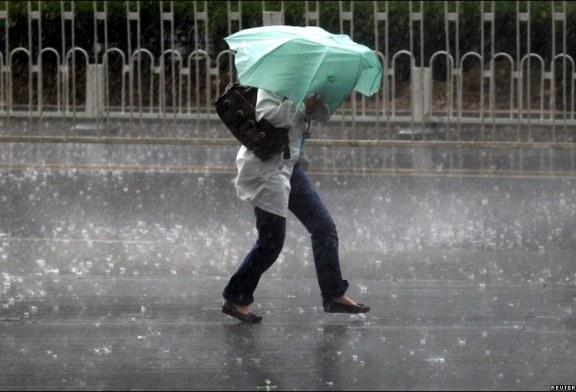 Vreme urata aproape in toata tara pana luni, 15 iulie, la ora 21:00. Ploile vor depasi 20 l/mp