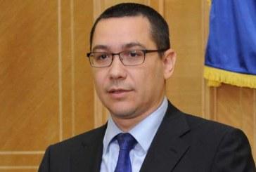 Ponta demisioneaza: Sper ca asta sa satisfaca asteptarile protestatarilor