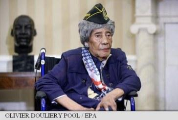 Cea mai longeviva veterana de razboi din SUA a murit la 110 ani