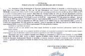 Vanzare terenuri in Ocolis – Extras publicatie imobiliara, din data de 09. 09. 2015