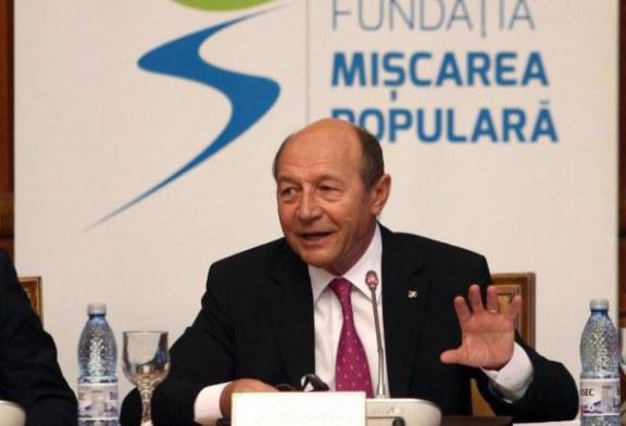 Basescu: Nu exclud o candidatura la parlamentare; in politica am cam facut ce a trebuit, nu neaparat ce am vrut