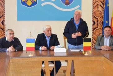 Delegatie din Belgia, la Prefectura Maramures