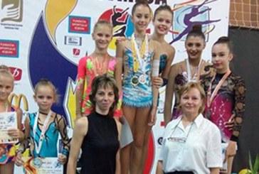 """Gimnastica ritmica: 14 medalii pentru LPS Baia Mare la """"Iasi Trophy"""""""