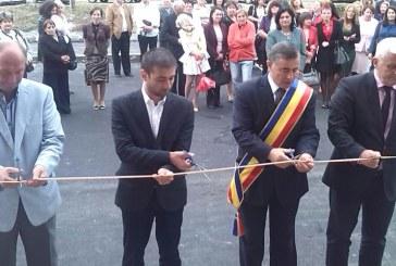 Noul spatiu de invatamant al Scolii Gimnaziale Nistru a fost inaugurat