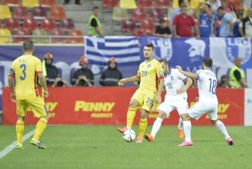 Fotbal: Romania nu poate trece de Grecia, dupa un nou meci slab