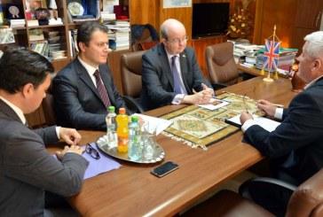 La invitatia HHC, ambasadorul Marii Britanii a vizitat Baia Mare