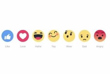 """Facebook creeaza optiunea Reactions pentru a exprima emotii dincolo de simplul """"Like"""""""