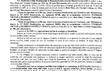 Vanzare terenuri in Dumbravita – Extras publicatie imobiliara, din data de 22. 10. 2015