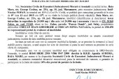 Vanzare teren in Zalau – Extras publicatie imobiliara, din data de 30. 10. 2015