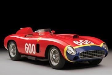 Un Ferrari din 1956 va fi scos la licitatie la New York