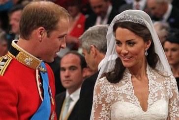 Un meniu de la nunta printului William cu Kate Middleton va fi scos la licitatie