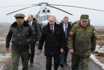 Rusia se doteaza cu o mare baza militara in Arctica