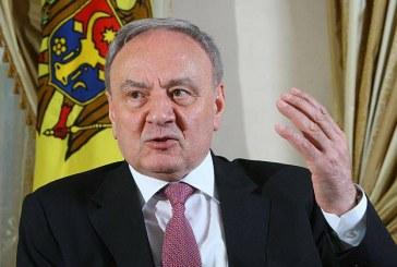 Presedintele Republicii Moldova: Exista forte care doresc sa ne opreasca din drumul nostru spre UE