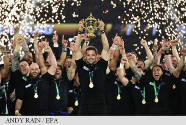 Rugby: Noua Zeelanda a cucerit a treia sa Cupa Mondiala, dupa 34-17 in finala cu Australia
