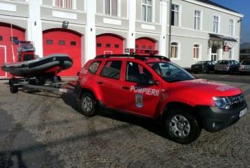 Ambarcatiune de salvare pentru ISU Maramures (FOTO)