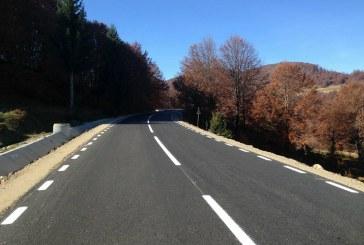 Pe drumul Baia Sprie – Barsana se fac marcajele rutiere