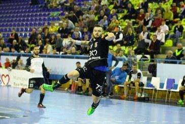 Handbal: Minaur castiga meciul cu HC Adrian Petrea Resita si termina turul pe locul 5