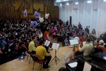 Carnavalul Animalelor: Concert educativ pentru copii, la Liceul de Arta din Baia Mare