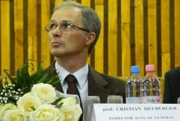 "Cristian Heuberger ramane director la liceul ""Gheorghe Sincai"""