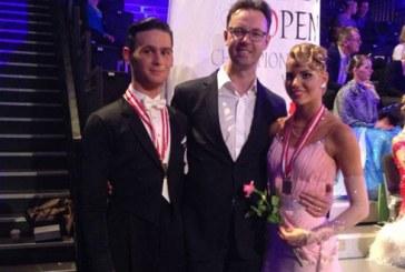 Dansatorii clubului Rus Team din Baia Mare, locul trei la Campionatul Austria Open 2015