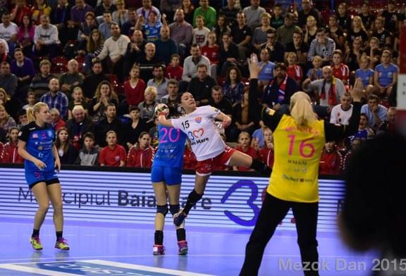 Handbal: HCM Baia Mare castiga ultimul meci acasa din grupele Ligii Campionilor