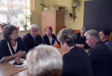 Protocol de colaborare in domeniul educatiei intre Maramures si Transcarpatia