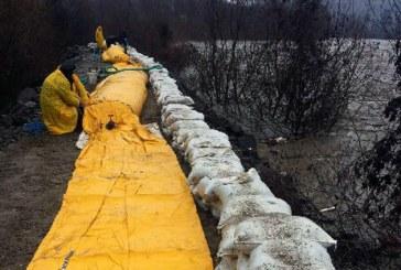 Pericol de inundatii pe mai multe rauri din judetul Maramures