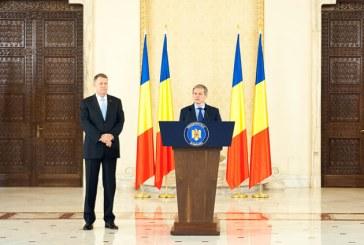 Iohannis: Il desemnez premier pe Dacian Ciolos