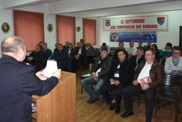 ISU Maramures: Instruire cu sefii Serviciilor pentru Situatii de Urgenta