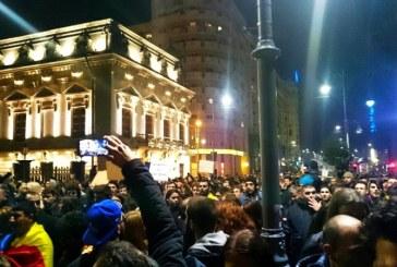 UPDATE: A doua zi de proteste dupa tragedia din Colectiv