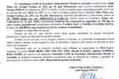 Vanzare teren si casa in Zalau – Extras publicatie imobiliara, din data de 07. 12. 2015