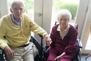 Doi americani casatoriti de 76 de ani si-au sarbatorit in 2015 centenarul