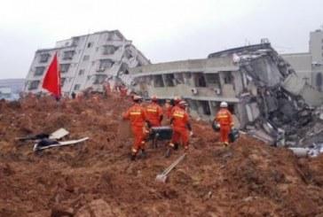 China: Cel putin 91 de disparuti dupa o alunecare de teren in orasul Shenzen