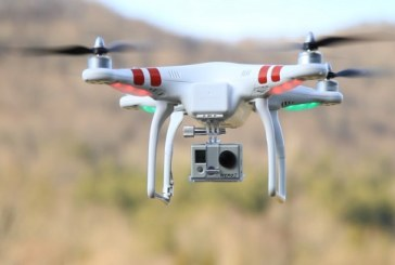 Contrabanda cu drona in Maramures