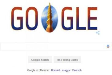 Ziua Nationala a Romaniei, sarbatorita cu un logo special de Google