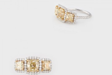 Un inel de peste 100.000 de dolari, scos la licitatie in Capitala