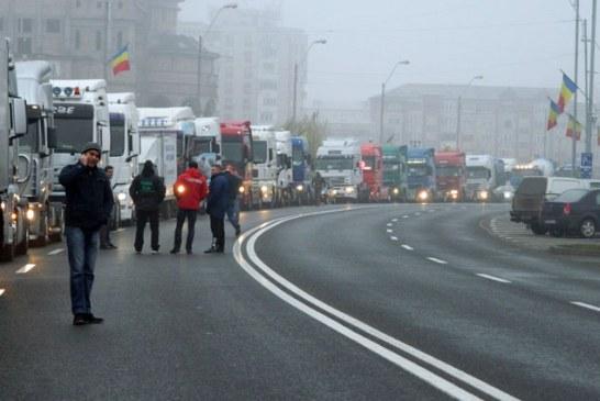 27 de proteste in 365 de zile in Maramures. Soferii, cei mai vocali anul trecut