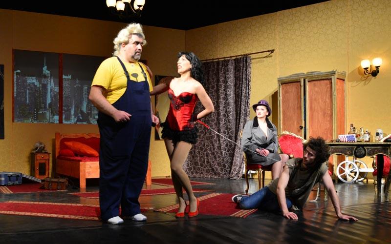 Spectacol: Comedie si fantezie, pe scena Teatrului Municipal Baia Mare