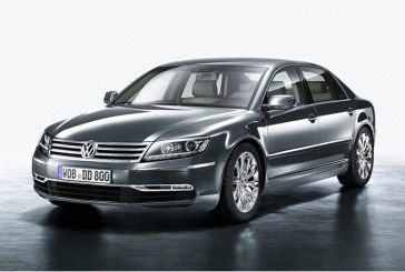 Volkswagen va opri anul viitor productia modelului de lux Phaeton